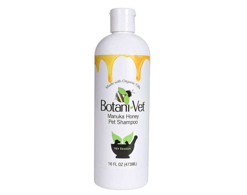 BotaniVet Certified Organic Manuka Honey Pet Shampoo
