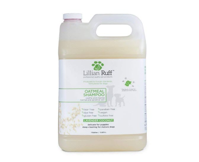 Lillian Ruff Oatmeal Dog Shampoo