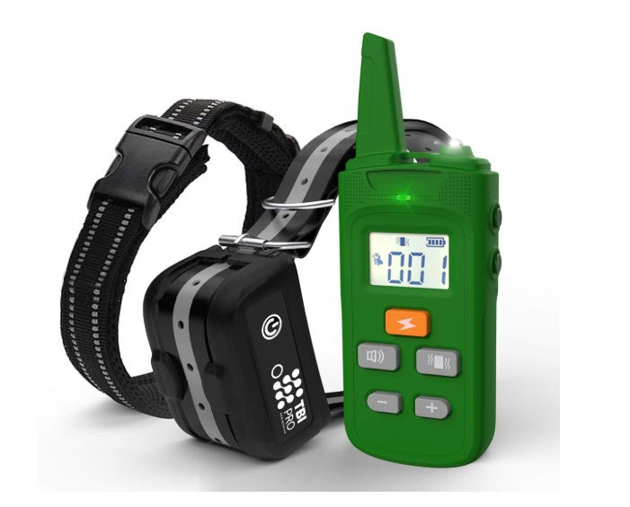 TBI Pro 2019 Dog Shock Training Collar With Remote