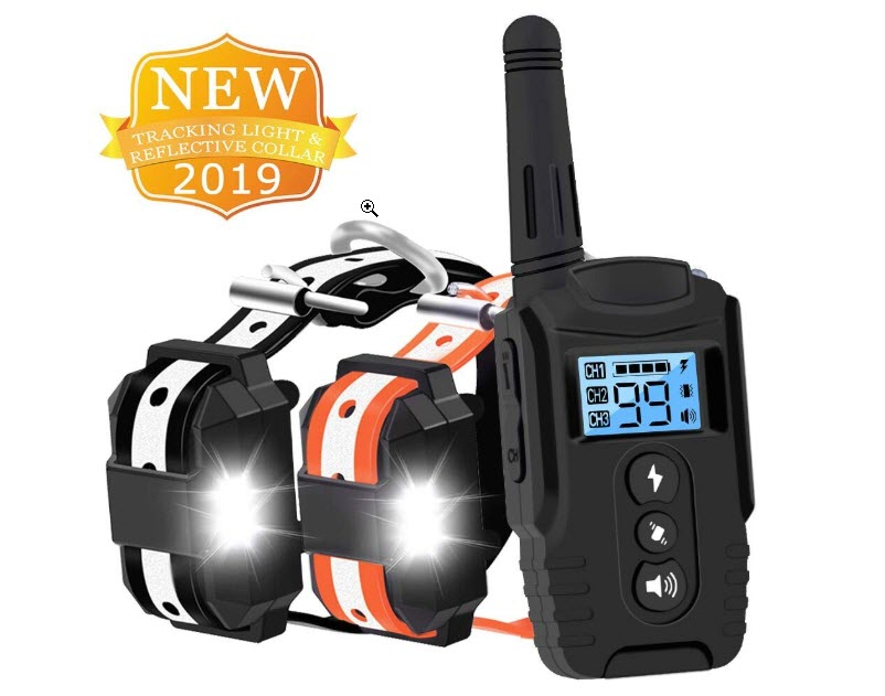 HISEASUN Training Collar with Remote for 2 Dogs
