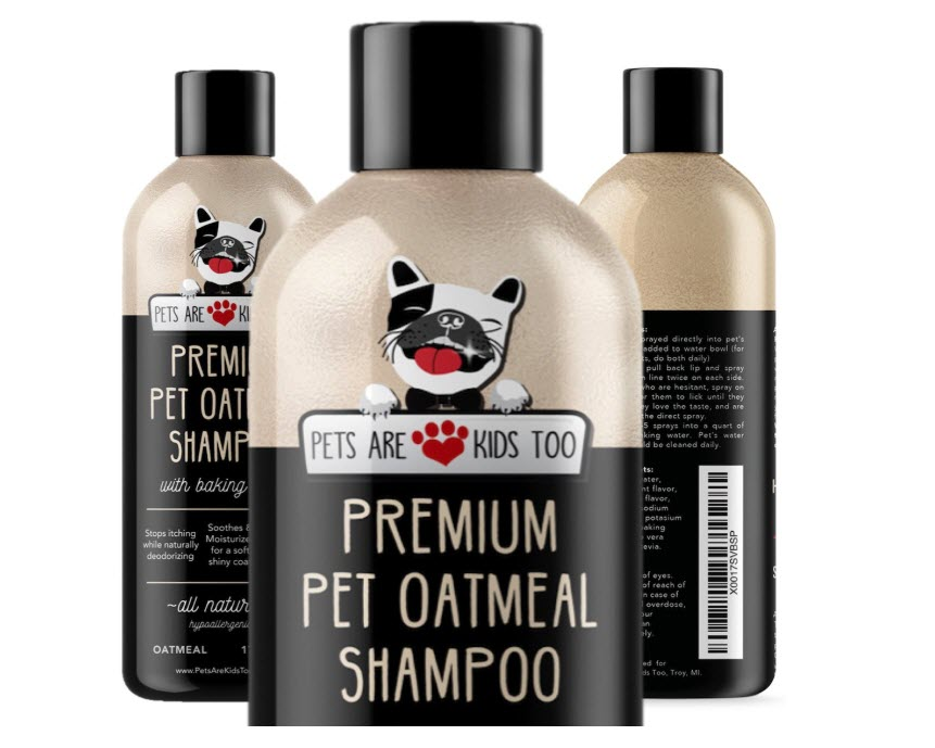 Pet Oatmeal Anti-Itch Shampoo