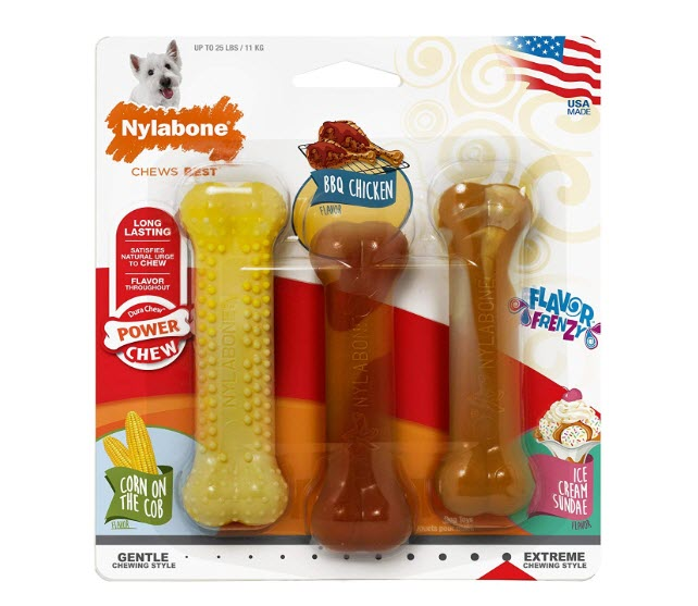 Nylabone Flavor Frenzy Giant Dog Chew Toys