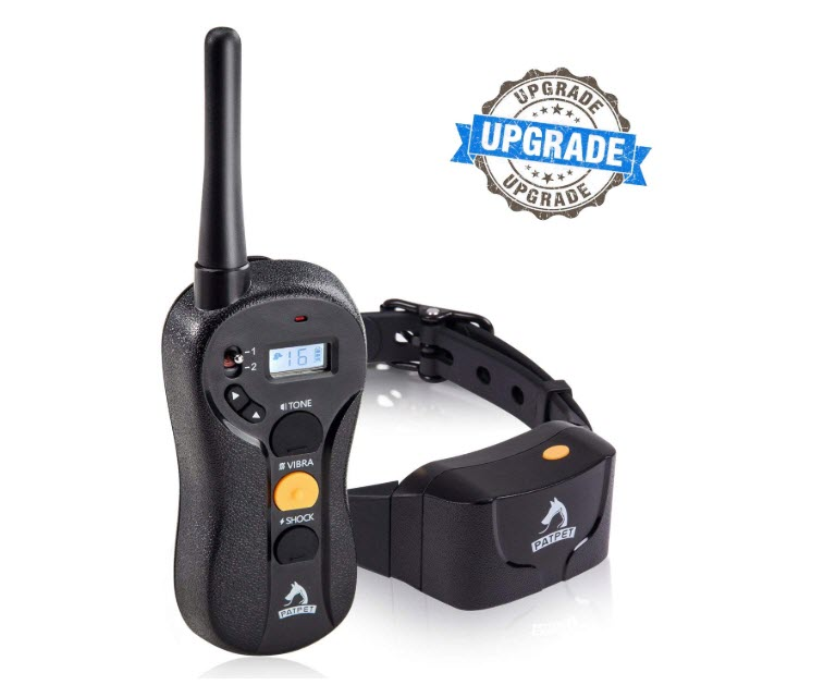 Patpet Training Collar - Upgraded 1000yd