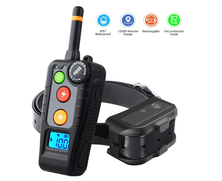 HOLDOG Rechargeable Dog Collar