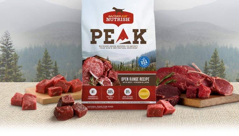 Rachael Ray Nutrish PEAK Open Range Recipe