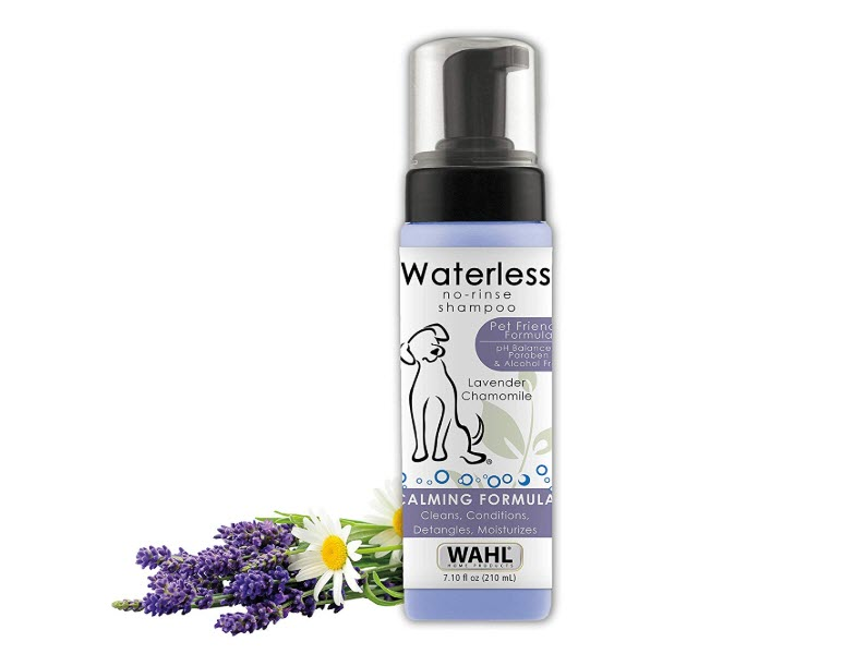 Wahl Pet Friendly Lavender Waterless No Rinse Shampoo