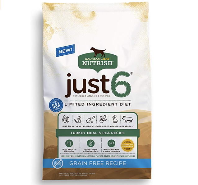 Rachael Ray Nutrish Just Natural Dry Dog Food, Limited Ingredient