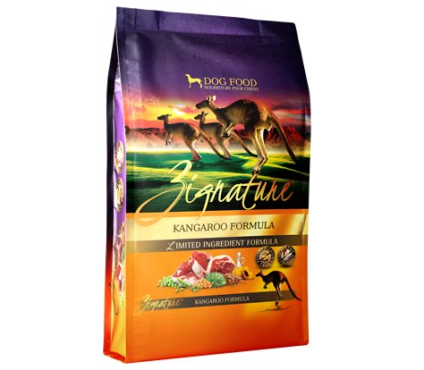Zignature Kangaroo Limited Ingredient Grain-Free Dog Food